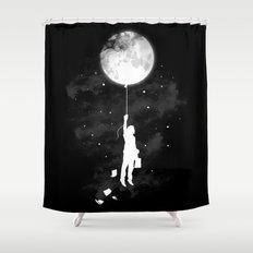 Midnight Traveler Shower Curtain