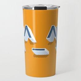 Headphone Guy Emojicon Travel Mug