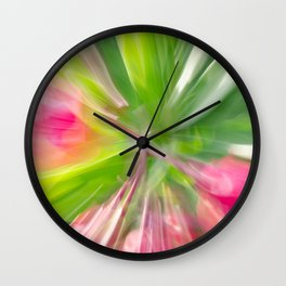 Follow the Leaf Wall Clock