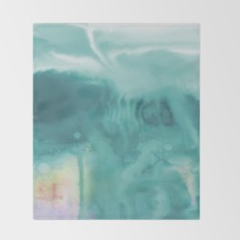 A Tranquil Dream No.1t by Kathy Morton Stanion Throw Blanket