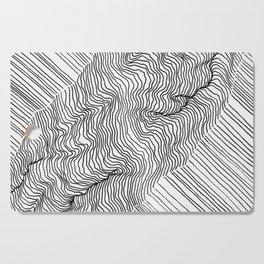 Rift Lines Cutting Board