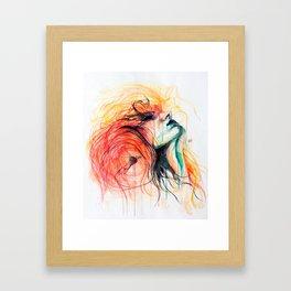 Metamorphosis-Bird of paradise Framed Art Print