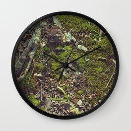 Mossy floor Wall Clock