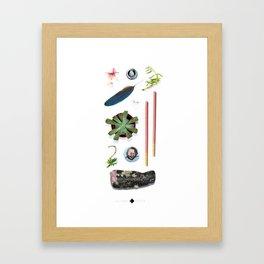 Summer Pockets Framed Art Print