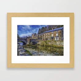 Beddgelert Village Framed Art Print