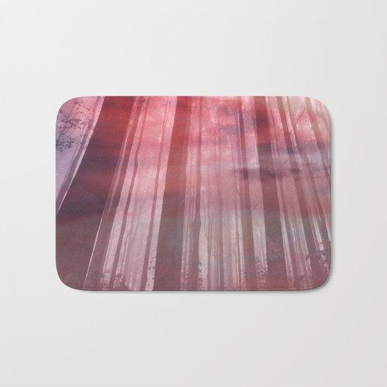 sky-forest Bath Mat