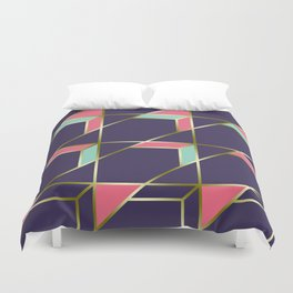 Ultra Deco 1 #society6 #ultraviolet #artdeco Duvet Cover