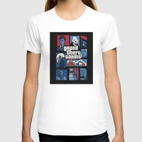 gta T-shirts featuring Doctor Who and GTA - Nerd Mix by MarcoMellark
