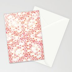 Damask Flower Stationery Cards