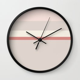Minimal Abstract Cozy Cottage 14 Wall Clock