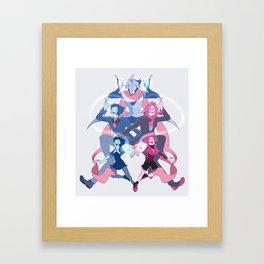 Fusion - Chalcedony Framed Art Print