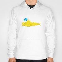yellow submarine Hoodies featuring Yellow Submarine by Tali Rachelle