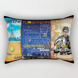 Tennis Magazine Covers Rectangular Pillow