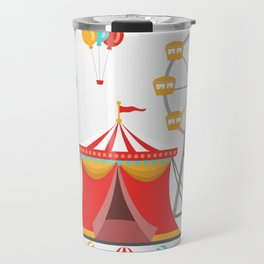 amusement park Travel Mug
