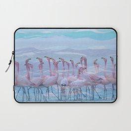 Flamingos #7, fun design Laptop Sleeve
