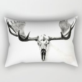 Winter Moose Is Coming Rectangular Pillow