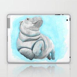 Baby Hippo Underwater Fantasia Ballet Laptop & iPad Skin