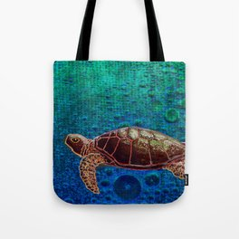 Turtle Patience Tote Bag