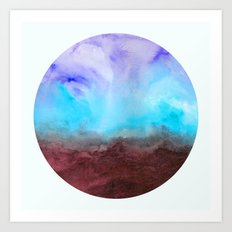 Gathering Your Storm Art Print