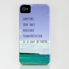 Leap of Faith iPhone (4, 4s) Slim Case
