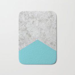 Concrete Arrow - Light Blue #206 Bath Mat