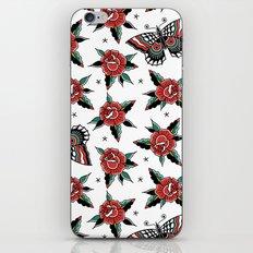 Butterfly Classic Tattoo Flash iPhone & iPod Skin