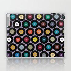 VINYL lilac Laptop & iPad Skin