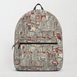 Hong Kong toile de jouy Backpack