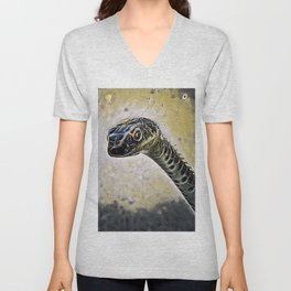 Who is in there? Unisex V-Neck