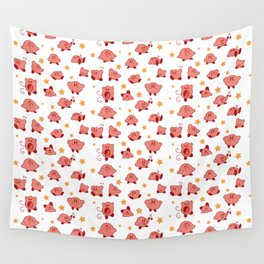 Kirby Pattern Wall Tapestry