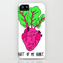 Beet of My Heart iPhone Case