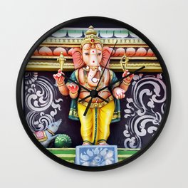 Ganesha God Wall Clock