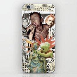 COLLAGE: Punk iPhone Skin