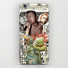 COLLAGE: Punk iPhone Skin