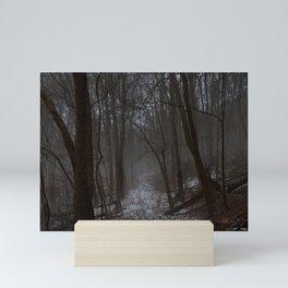 Misty Trail Mini Art Print
