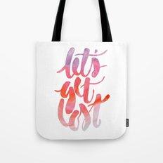 Let's Get Lost Tote Bag