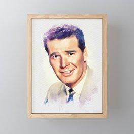 James Garner, Movie Legend Framed Mini Art Print