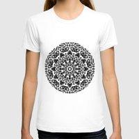 oriental T-shirts featuring Oriental Pattern by LebensARTdesign