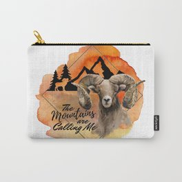 The Mountains Are Calling Me Carry-All Pouch