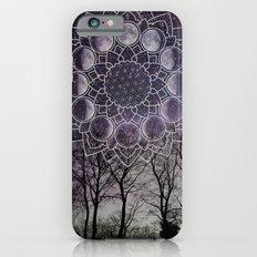 Purple Moon Phase iPhone 6s Slim Case