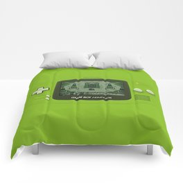 Gameboy Zelda Link Comforters