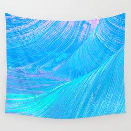 Pastel Swirls Wall Tapestry