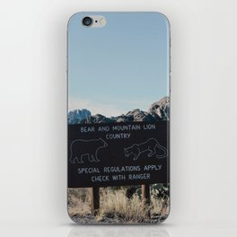 Chisos Country iPhone Skin