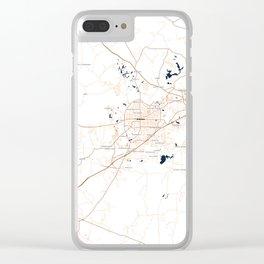 FanMap | NCAA Auburn #04 Clear iPhone Case