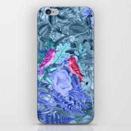 blue&birds iPhone Skin