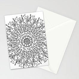 Spring mandala Stationery Cards