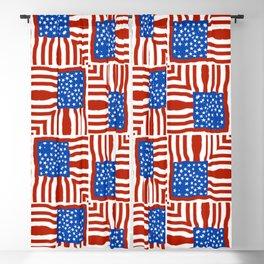Patriot Patchwork Blackout Curtain