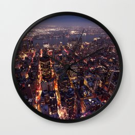 Rooftops in NYC / 02 Wall Clock