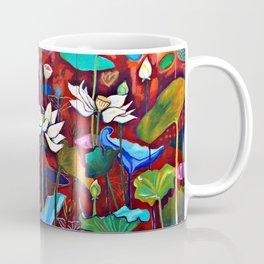 Radiant Lotus Garden Coffee Mug