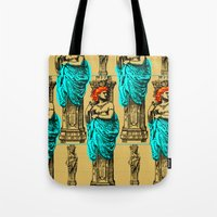 antique Tote Bags featuring Antique by CottonMouth